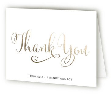 Ever After Anniversary Party Thank You Cards