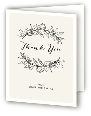 Golden Years Anniversary Party Thank You Cards