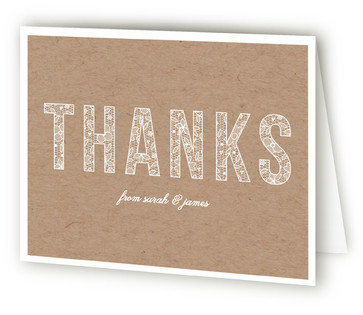 Lace anniversary Anniversary Party Thank You Cards