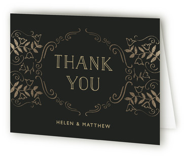 Anniversary Elegance Anniversary Party Thank You Cards