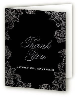 Silver Anniversary Anniversary Party Thank You Cards