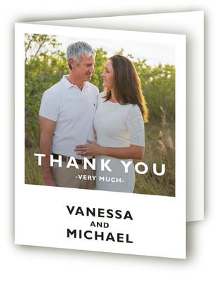 Desenfadado Anniversary Party Thank You Cards