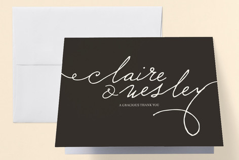 Love Letter Anniversary Party Thank You Cards