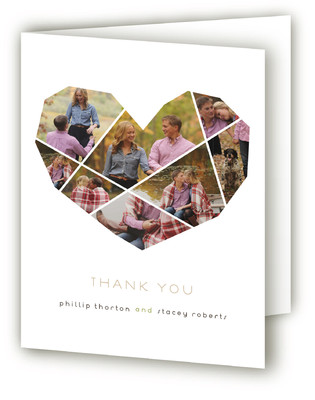 Complete Love Anniversary Party Thank You Cards