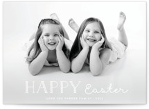 This is a white easter photo card by Amy Payne called Candy Cane Merry printing on smooth signature.