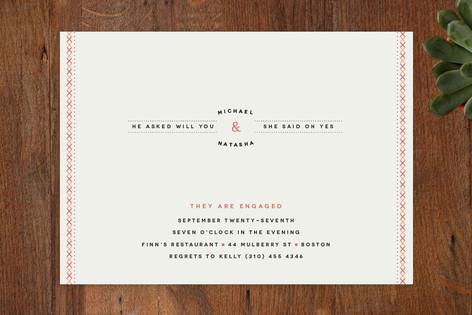 Sweet Sundae Engagement Party Invitations