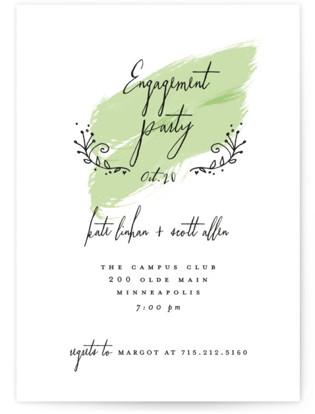 Tiny Hearts Engagement Party Invitations