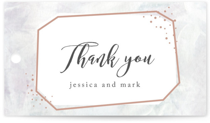 This is a grey, rosegold Wedding Favor Tags by Creo Study called diamonte glimmer with Standard printing on Signature in Tag Flat Card format. Add the perfect finishing touch to all of your wedding gifts with these chic and customizable ...