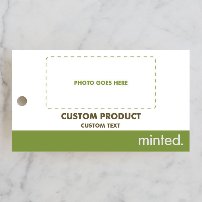 """""""Landscape"""" - Engagement Party Favor Tags in Charcoal by Minted Custom."""