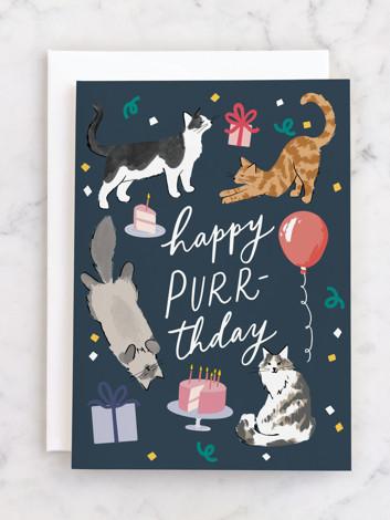 Happy Purr-thday