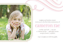 Cloud Nine First Holy Communion Invitations By kelli hall