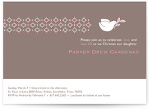 Dove on Gray by Two Pooch Paperie