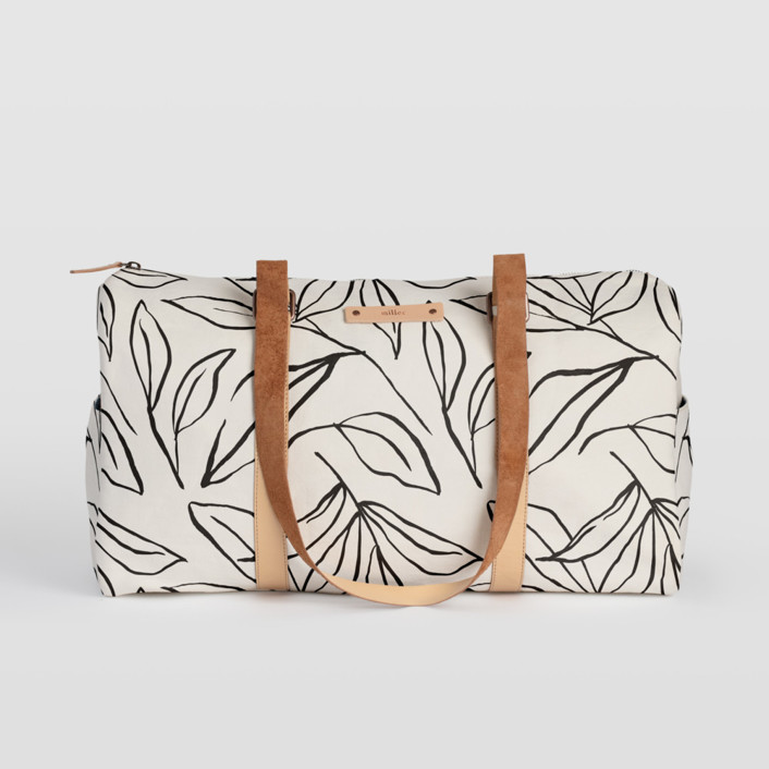 ink line leaves Fillmore Duffle, $82