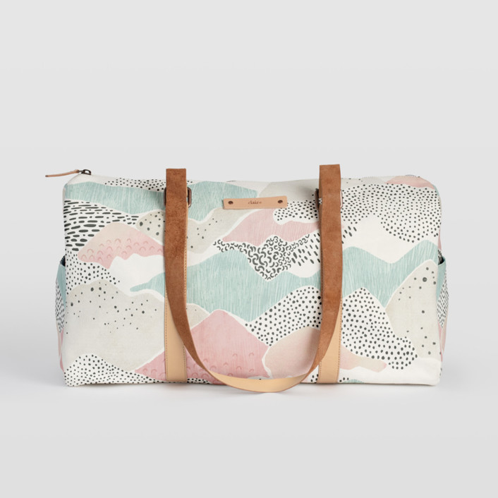 Abstract View Fillmore Duffle, $82