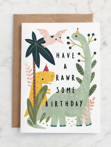 Rawrsome birthday