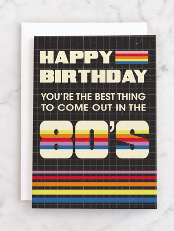 80's Birthday