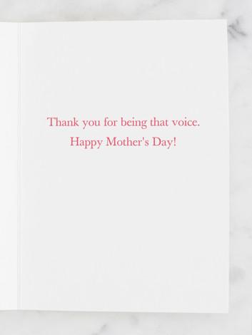 A voice
