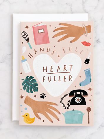 Hands full, Heart fuller