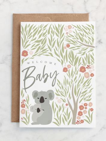 koala welcome baby