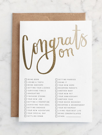 All-Purpose Congrats