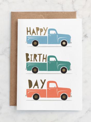 Birthday Truckloads