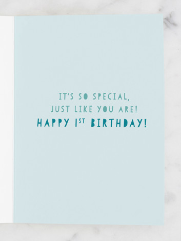 First ever birthday