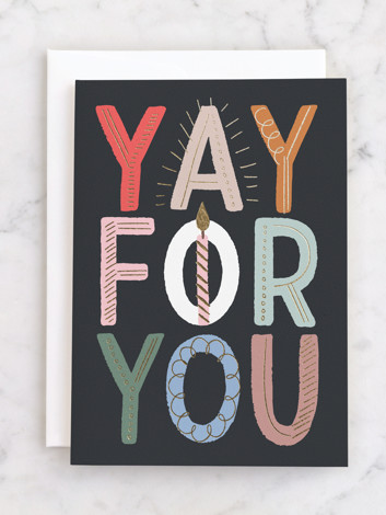Yay for you!