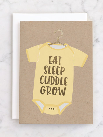 Eat Sleep Cuddle Grow