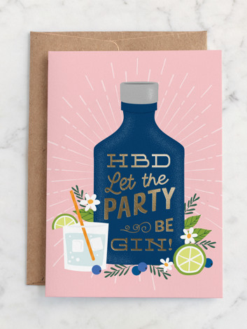 Birthday Gin