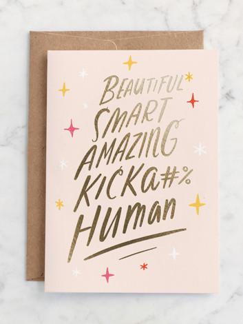 Kicka#% Human