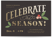 Celebrate the Season by Griffinbell Paper Co.