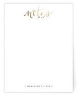 Handlettered Notes