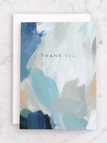 Painted Thank You