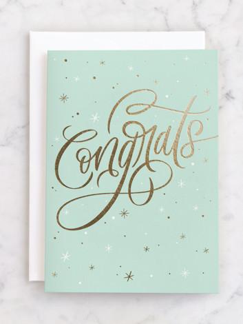 Shimmering Congrats