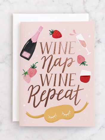 WINE NAP REPEAT