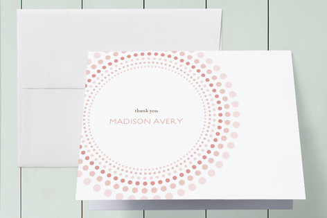 Joyful Bursts First Holy Communion Thank You Cards