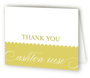 Sweet Scallop First Holy Communion Thank You Cards