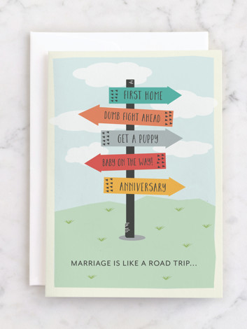 Marriage is a road trip