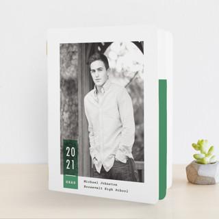 grad stripe Graduation Booklette™ Cards