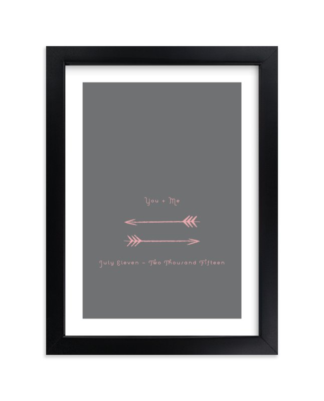 """""""Shot through the Heart"""" by Anna Elder in beautiful frame options and a variety of sizes."""