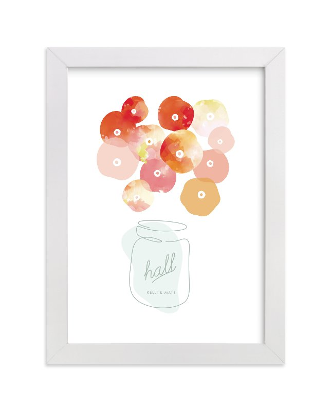 """""""Summer Pickled Poppies"""" by kelli hall in beautiful frame options and a variety of sizes."""