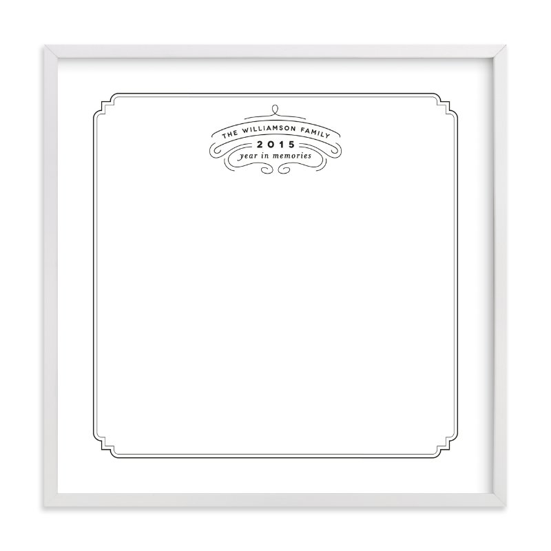 """""""Family Logo Keepsake"""" by Alethea and Ruth in beautiful frame options and a variety of sizes."""