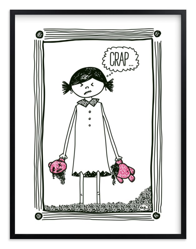 """""""Cheer Up!"""" by blackwhite press in beautiful frame options and a variety of sizes."""