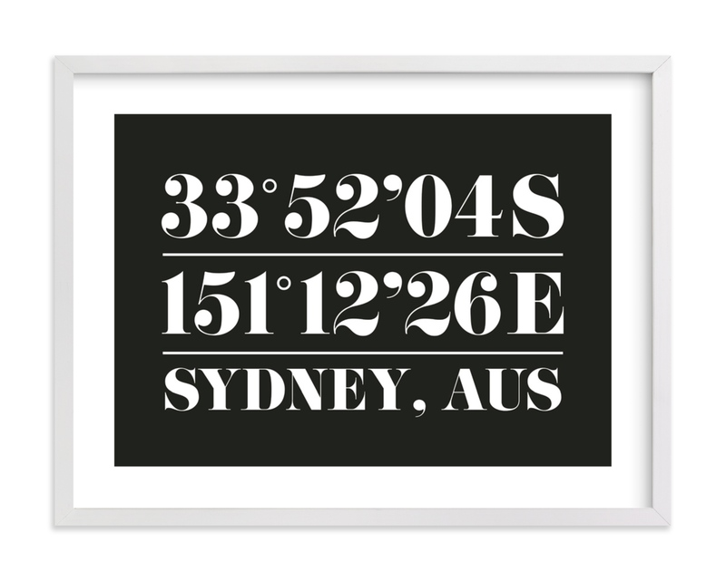 This is a black and white custom art by Baumbirdy called Custom Coordinates with standard.