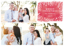 winter berries Guildery Holiday Cards
