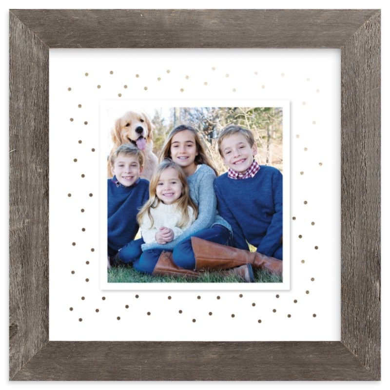 """""""Modern Dot"""" - Foil Pressed Photo Art Print by Alston Wise in beautiful frame options and a variety of sizes."""