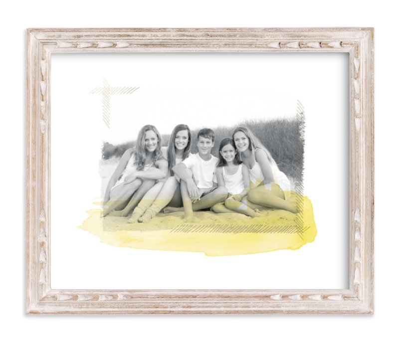 """Painted Memories"" - Foil Pressed Photo Art Print by annie clark in beautiful frame options and a variety of sizes."