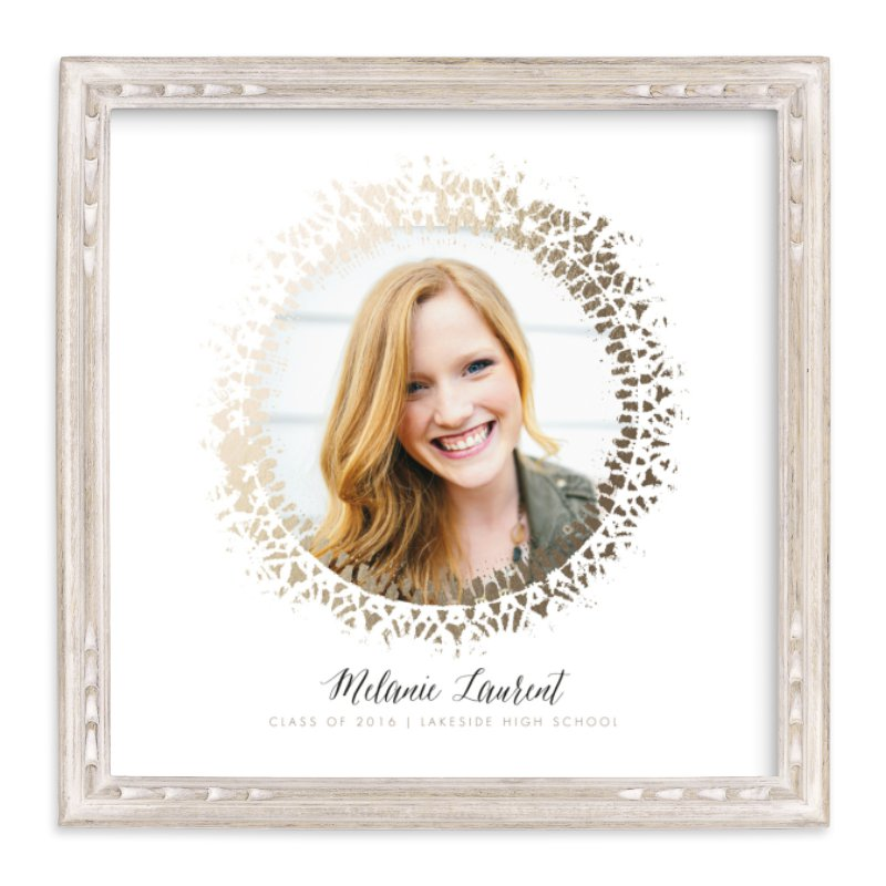 """shine bright and lacy"" - Foil Pressed Photo Art Print by Susanne Kasielke in beautiful frame options and a variety of sizes."