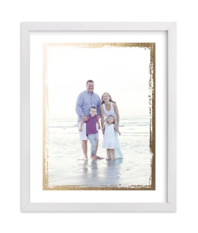 """Rustic Edges"" - Foil Pressed Photo Art Print by cambria in beautiful frame options and a variety of sizes."