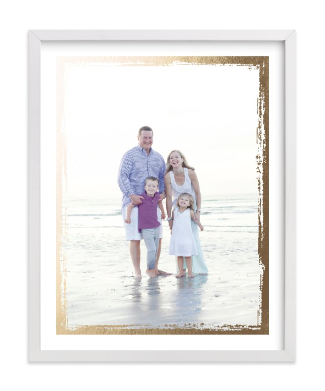 """""""Rustic Edges"""" - Foil Pressed Photo Art Print by cambria in beautiful frame options and a variety of sizes."""